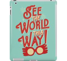See the world this way! iPad Case/Skin
