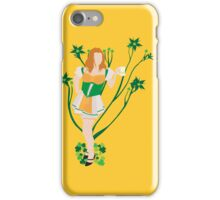 Red Headed Beer Maiden iPhone Case/Skin