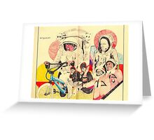 spacemen Greeting Card