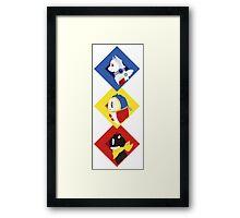 Persona Mascots Framed Print