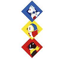 Persona Mascots Photographic Print