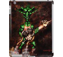 Goblin with BT1000 Turkey Gun iPad Case/Skin