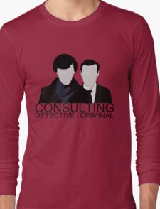 Consulting Detective/Criminal Long Sleeve T-Shirt
