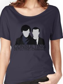 Consulting Detective/Criminal Women's Relaxed Fit T-Shirt