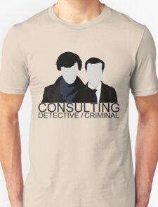 Consulting Detective/Criminal Unisex T-Shirt