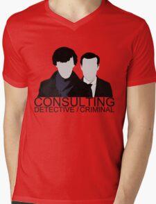 Consulting Detective/Criminal Mens V-Neck T-Shirt