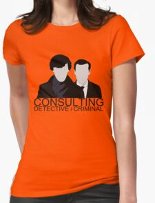 Consulting Detective/Criminal Womens Fitted T-Shirt