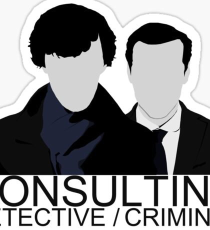 Consulting Detective/Criminal Sticker