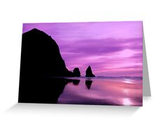 CANON BEACH Greeting Card
