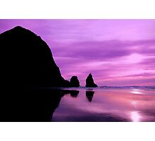 CANON BEACH Photographic Print