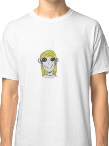 Creepy Blond Doll Tee  Classic T-Shirt