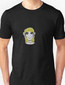 Creepy Blond Doll Tee  T-Shirt