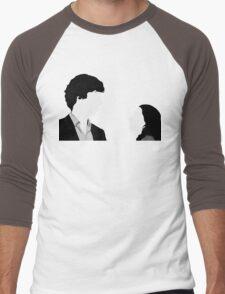 Sherlock And Irene Men's Baseball ¾ T-Shirt