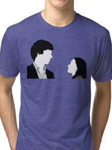 Sherlock And Irene Tri-blend T-Shirt