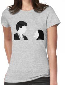 Sherlock And Irene Womens Fitted T-Shirt