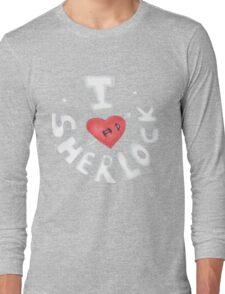 I <3 Sherlock Long Sleeve T-Shirt
