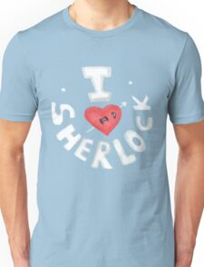 I <3 Sherlock Unisex T-Shirt