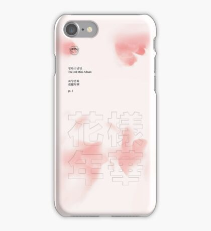 BTS: 화양연화 The Most Beautiful Moment in Life Album (Pink Vers.) iPhone Case/Skin