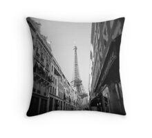 Rue de Monttessuy Throw Pillow