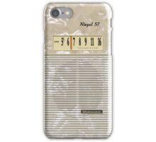 Vintage Transistor Radio - Regal 57 iPhone Case/Skin