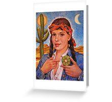 Peyote Woman Greeting Card