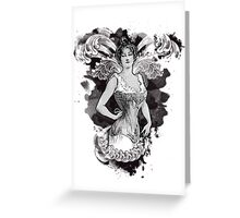 Corseted! Greeting Card