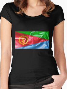 Eritrea Flag Women's Fitted Scoop T-Shirt
