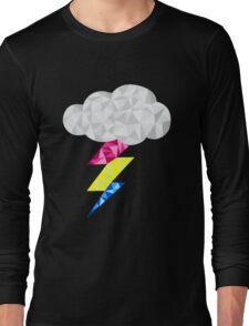 Pansexual Storm Cloud Long Sleeve T-Shirt