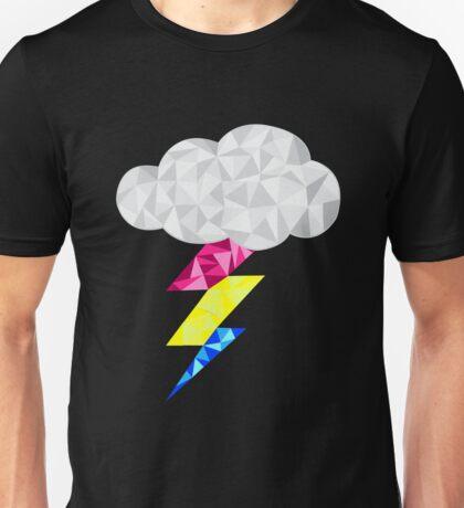 Pansexual Storm Cloud Unisex T-Shirt