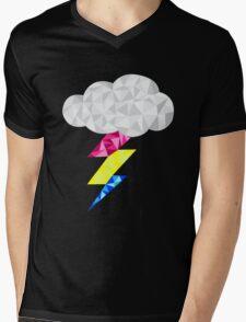 Pansexual Storm Cloud Mens V-Neck T-Shirt