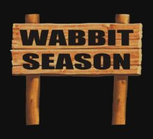Wabbit season Kids Tee