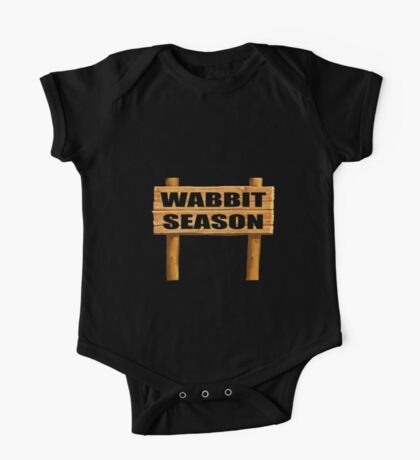 Wabbit season One Piece - Short Sleeve
