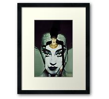 Projection Project- Self ideals Framed Print