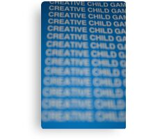 Creative Child  Canvas Print
