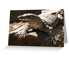 Monster Lizard Greeting Card