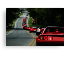 Lamborghini, Bentley, Maserati, Porsche, and you others I can't pronounce GET IN LINE!! Canvas Print