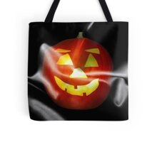 Halloween Flag Jack o Lantern Pumpkin Tote Bag