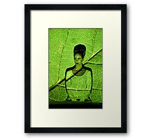Projection Project - Natural State Framed Print