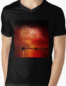 Italian Fire Mens V-Neck T-Shirt