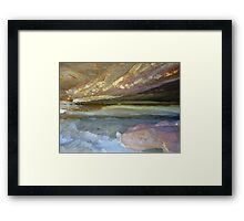 Rock Formation Bay - 4 Framed Print