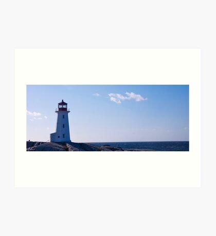 Peggys Point Lighthouse Art Print