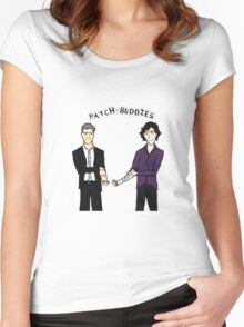 Patch-buddies Women's Fitted Scoop T-Shirt