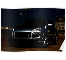 PORSCHE CAYENNE GTS FRIDAY THE 13TH EDITION!! Poster