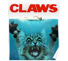 Meow Claws Parody Poster