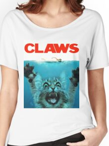 Meow Claws Parody Women's Relaxed Fit T-Shirt