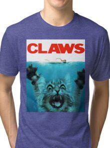 Meow Claws Parody Tri-blend T-Shirt