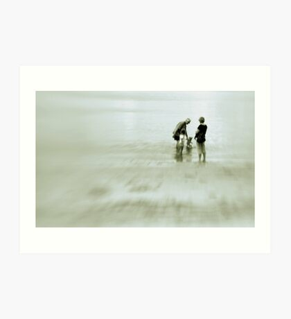 Unrushed . . . and young like me  Art Print