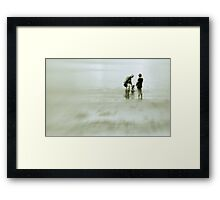 Unrushed . . . and young like me  Framed Print