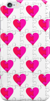 Pieces of Love (iPhone Case) by Maria Dryfhout