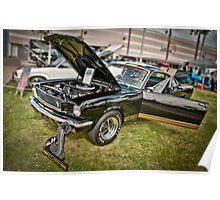 Hertz Ford Mustang Poster
